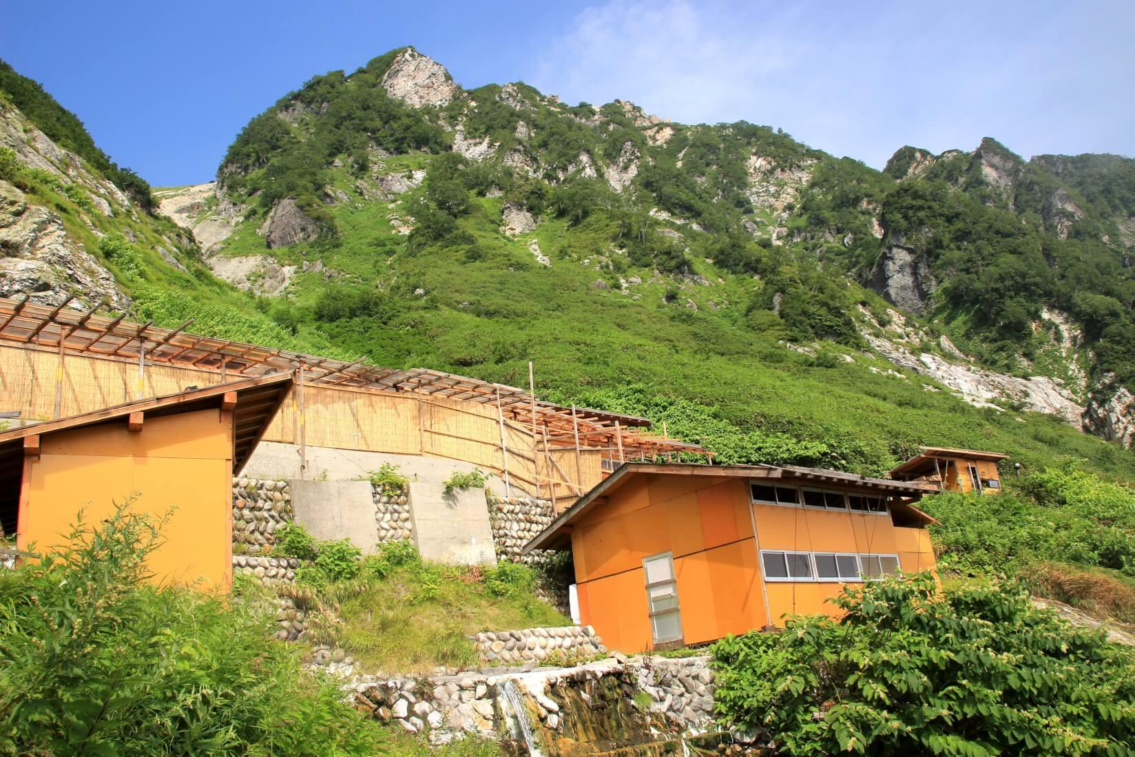 白馬鑓温泉小屋