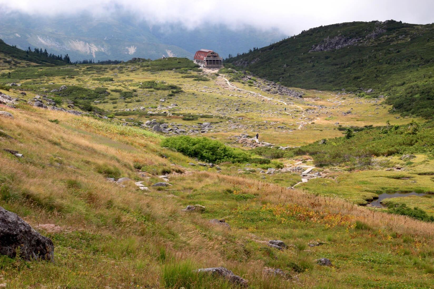 雲ノ平と雲ノ平山荘