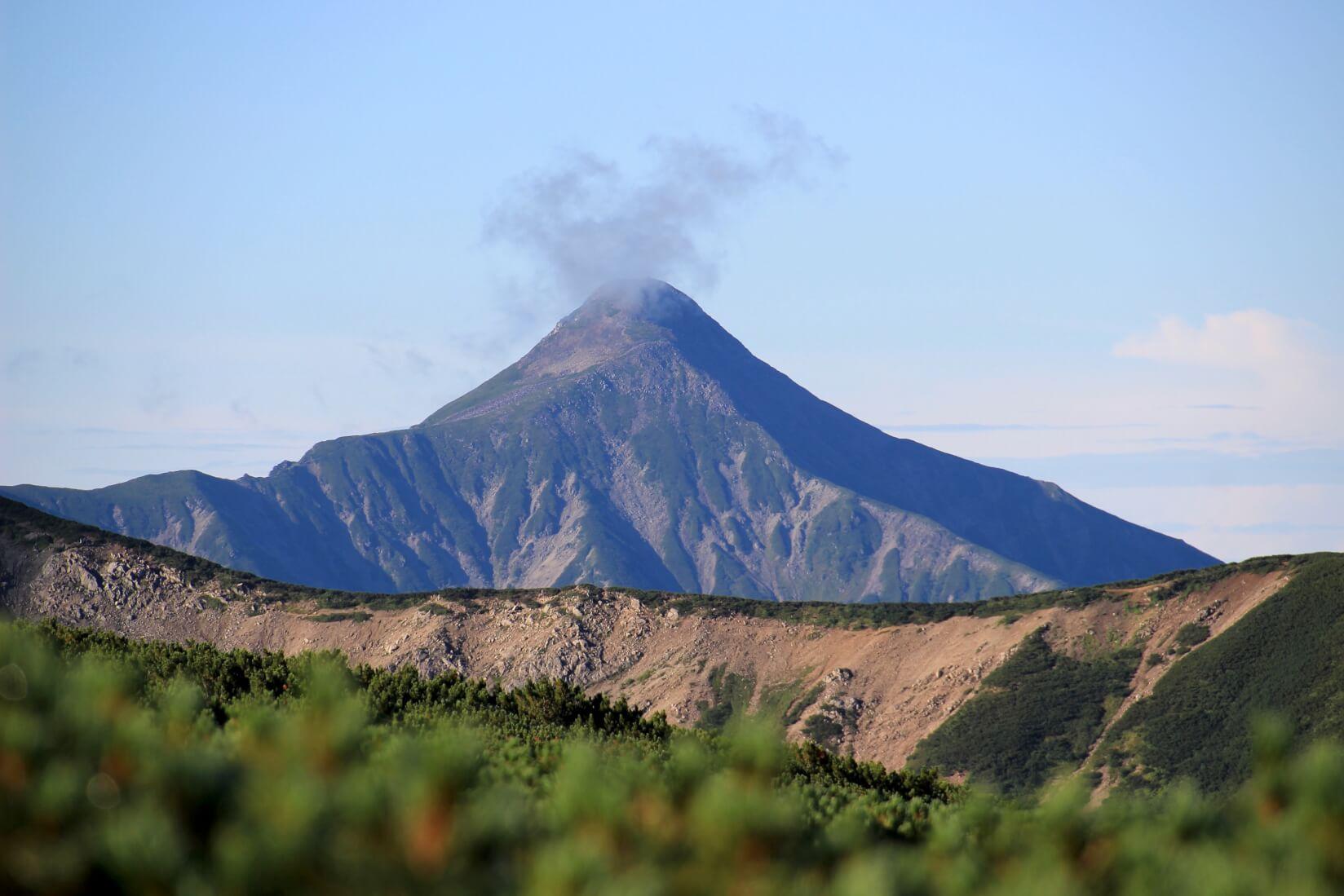 雲ノ平から黒部源流までの区間より笠ヶ岳