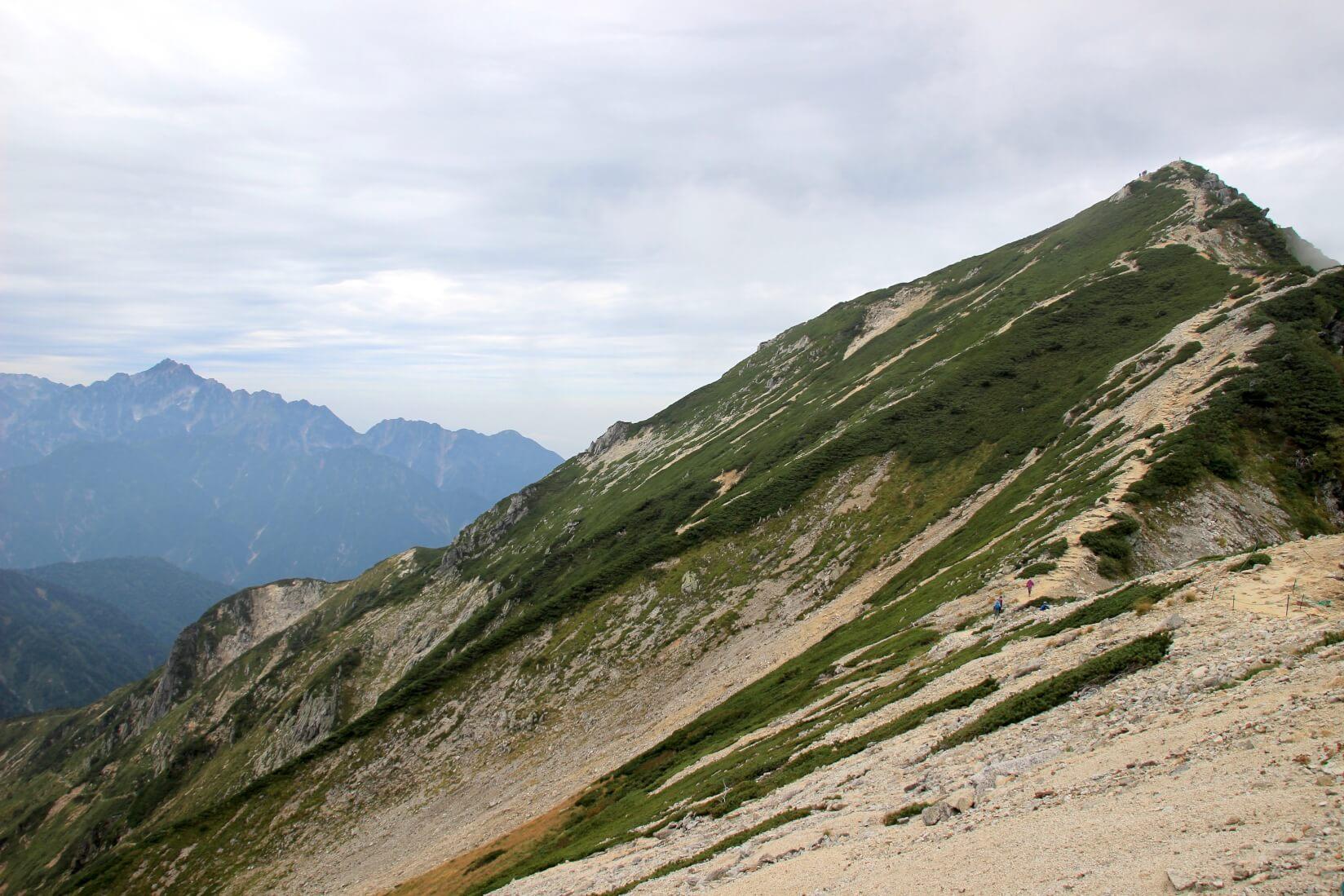 唐松岳と剱岳