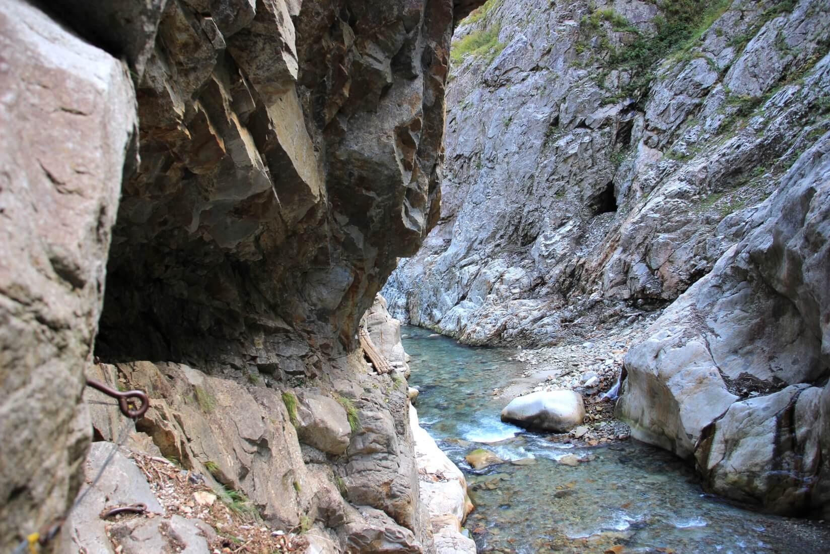 下ノ廊下、別山谷出合〜白竜峡区間