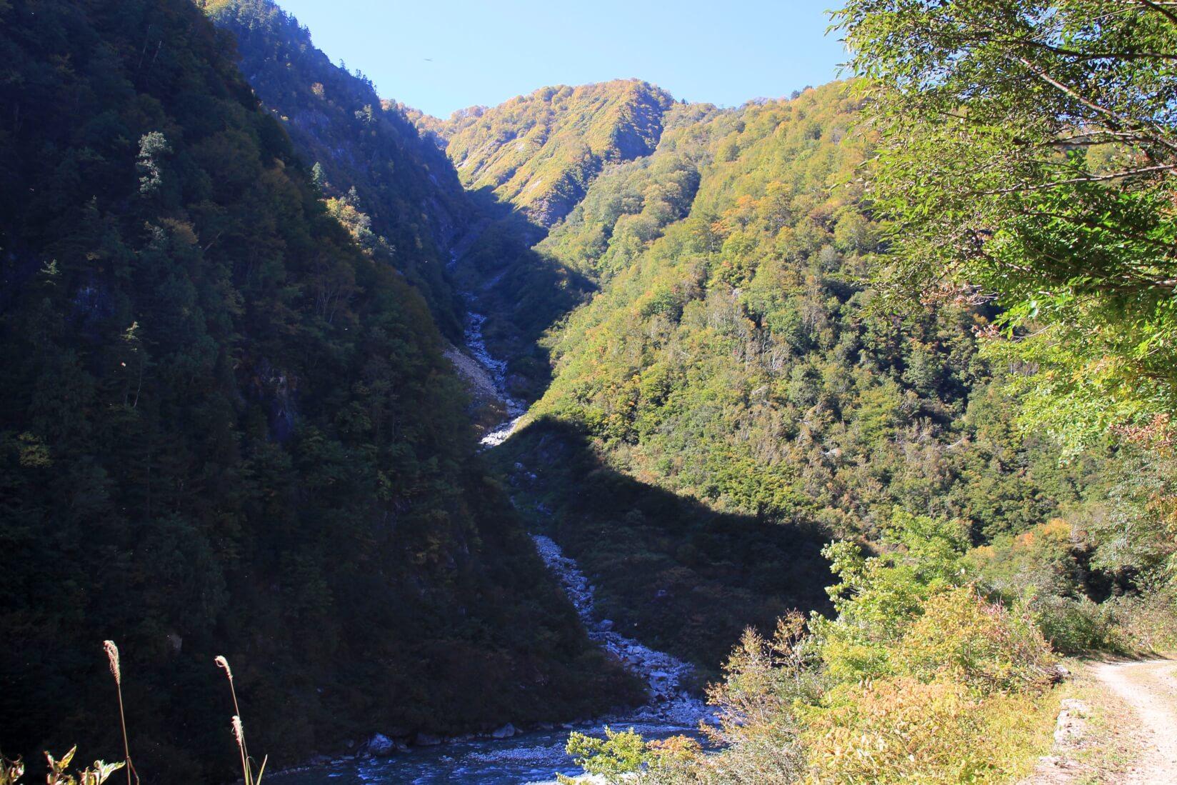 下ノ廊下、十字峡〜仙人谷ダム区間