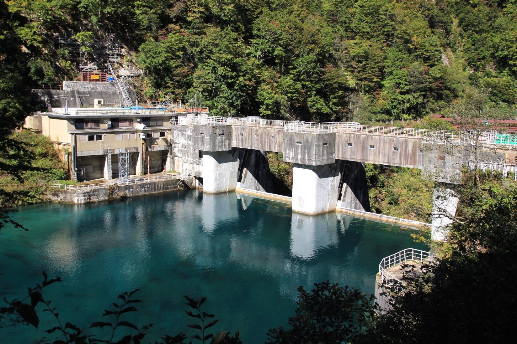下ノ廊下、仙人谷ダム