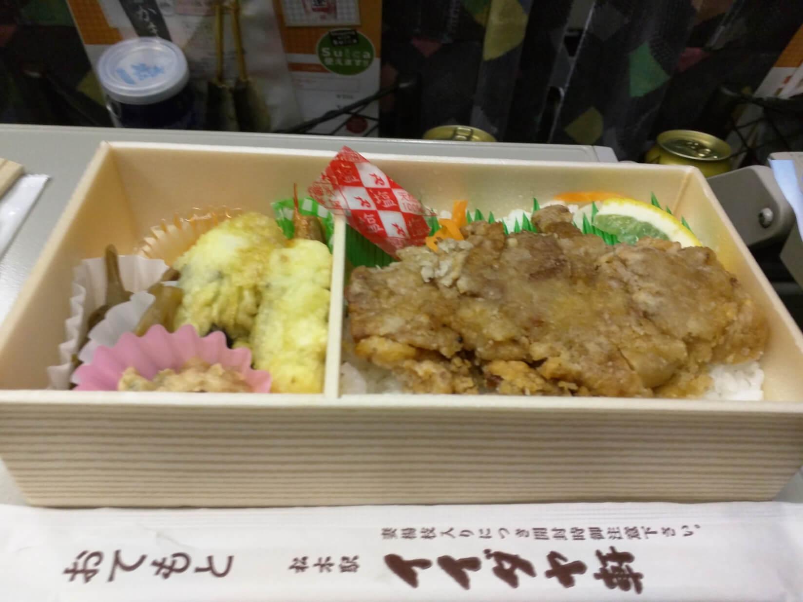 松本駅名物山賊焼弁当