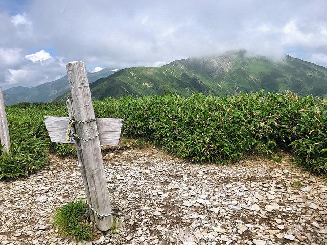 いつかは白山へ・・・ 銚子ヶ峰~三ノ峰 美濃禅定道ルート