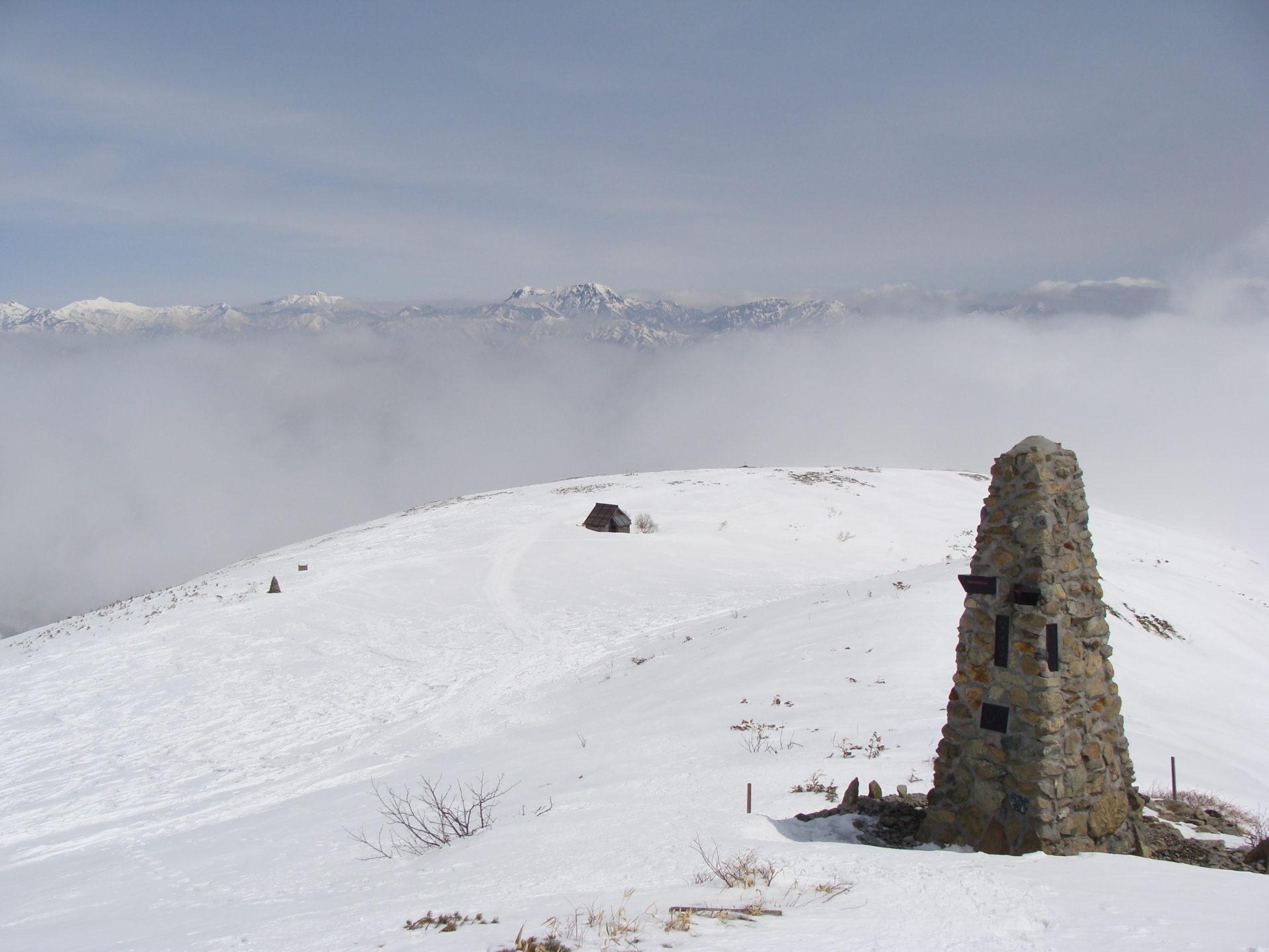 数年前のGW八方尾根雪山トレッキング