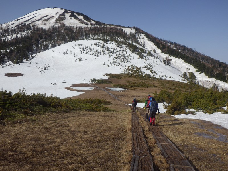 GWの残雪山行2 燧ヶ岳
