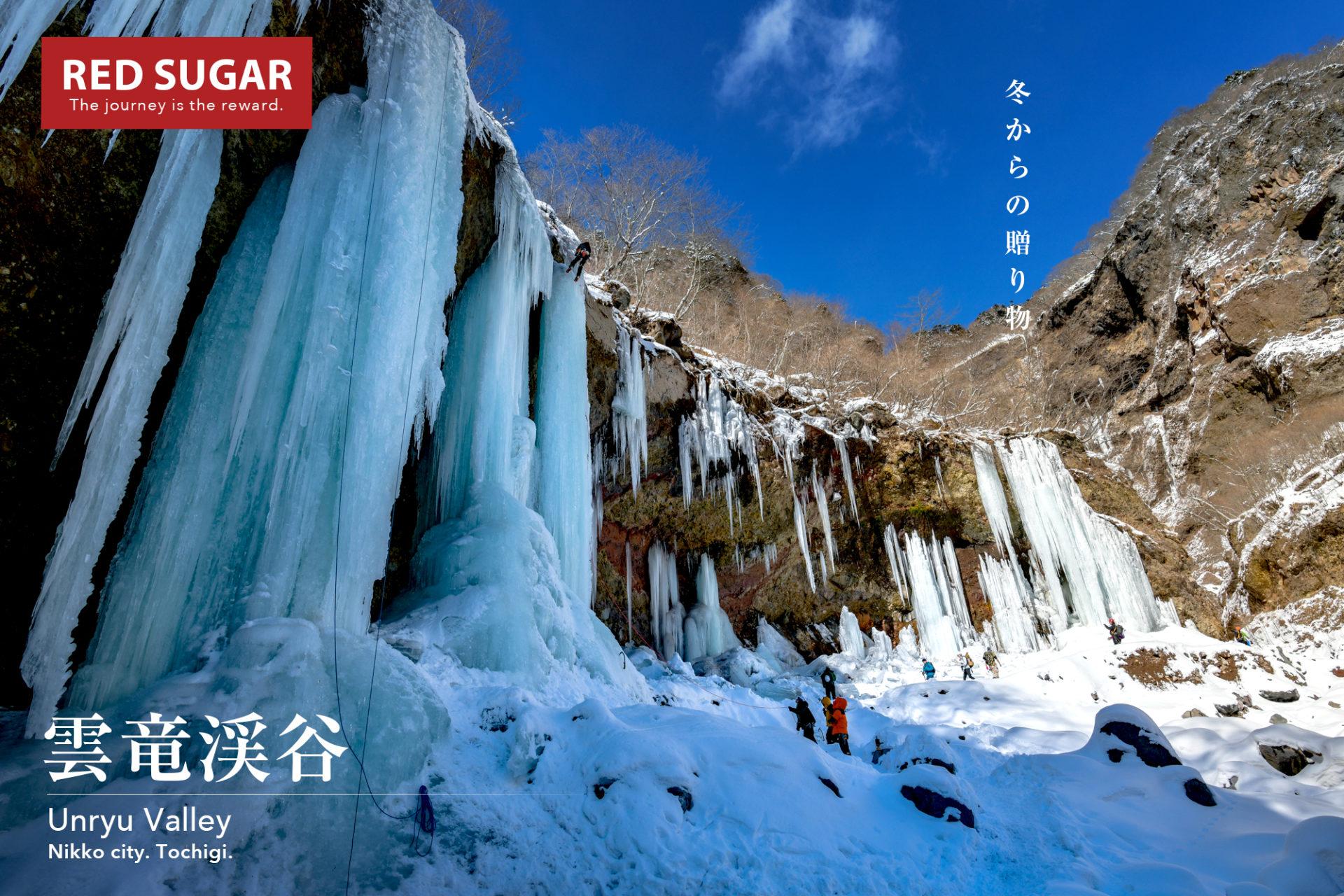 【北関東】雲竜渓谷、連なる巨大氷柱と雲竜氷瀑の天然氷を食す日帰り登山